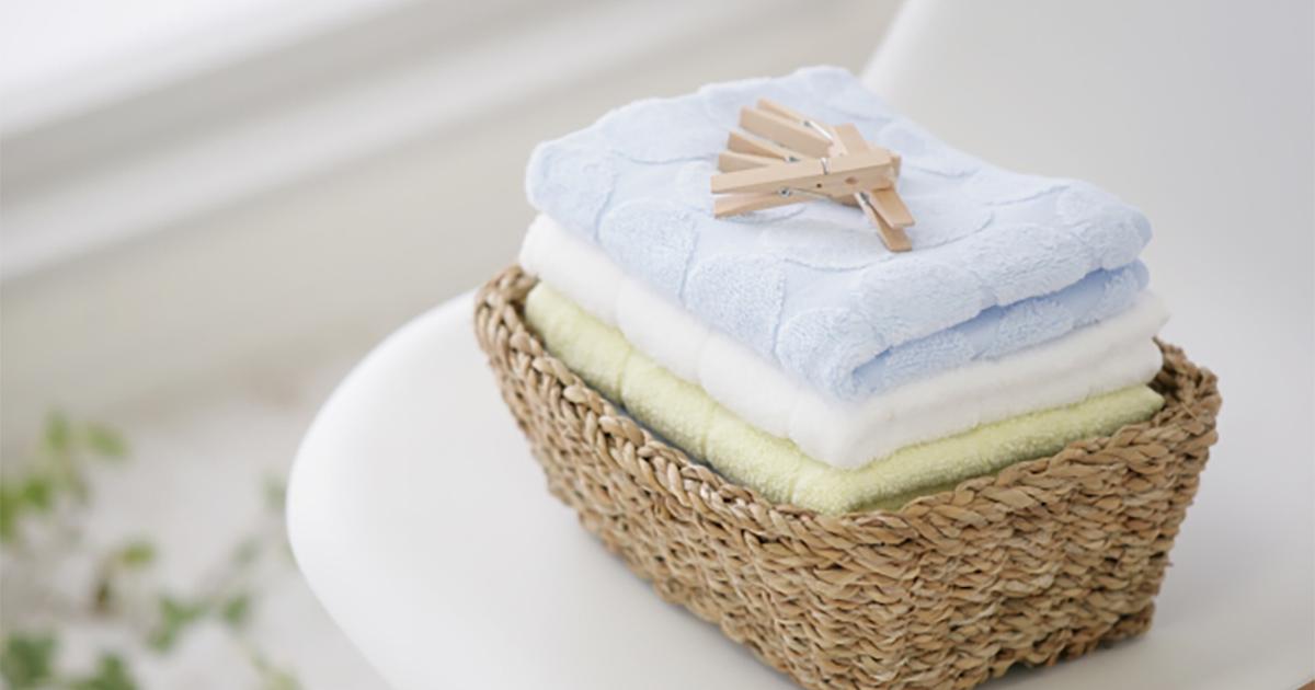 タオルはどのくらい使うと寿命を迎える?長持ちさせる方法ってある?