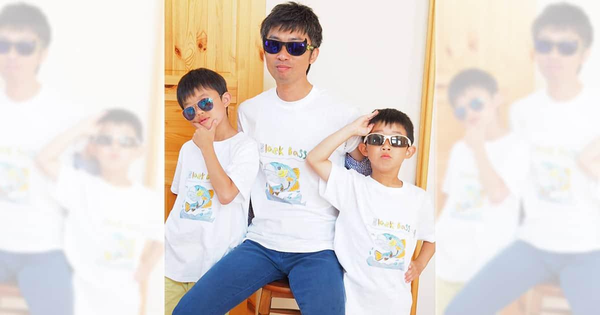 「子どもが描いた絵があまりに上手だったので記念に作った」オリジナルTシャツ作成事例