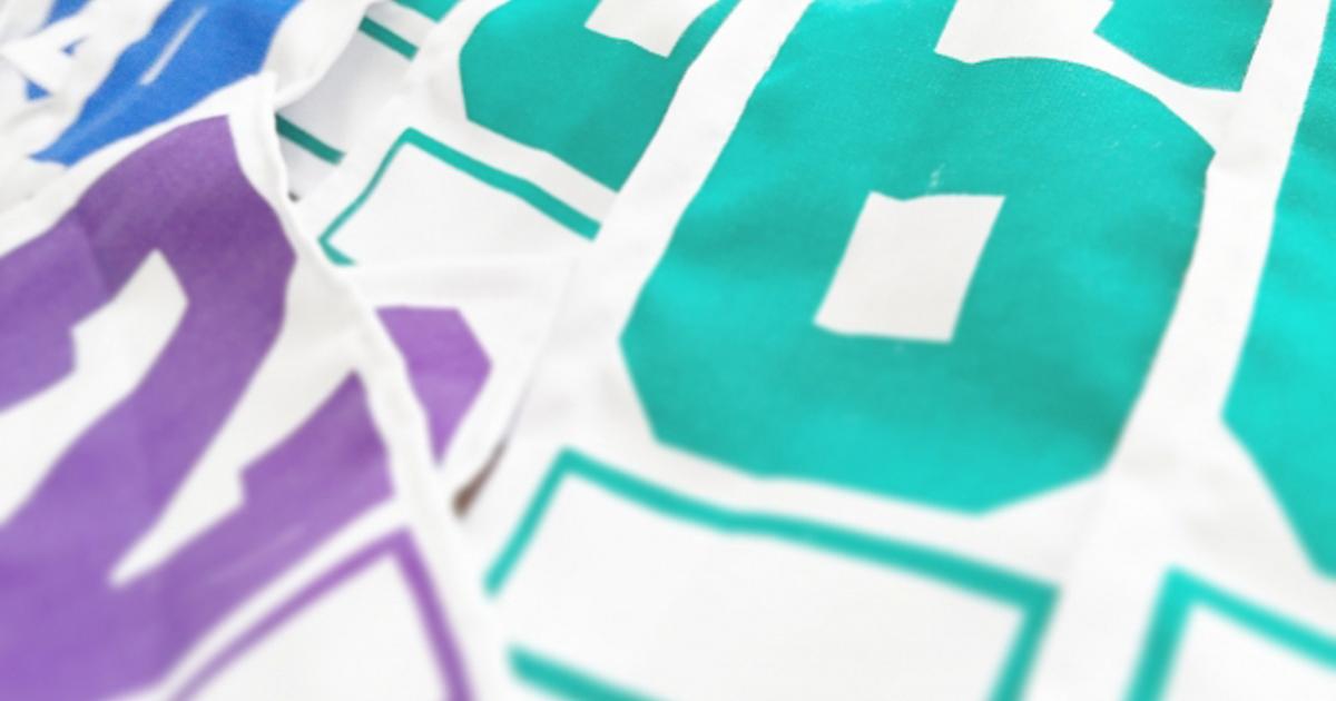 簡単・綺麗・安い!!ゼッケンを自分で印刷する方法とコツを解説