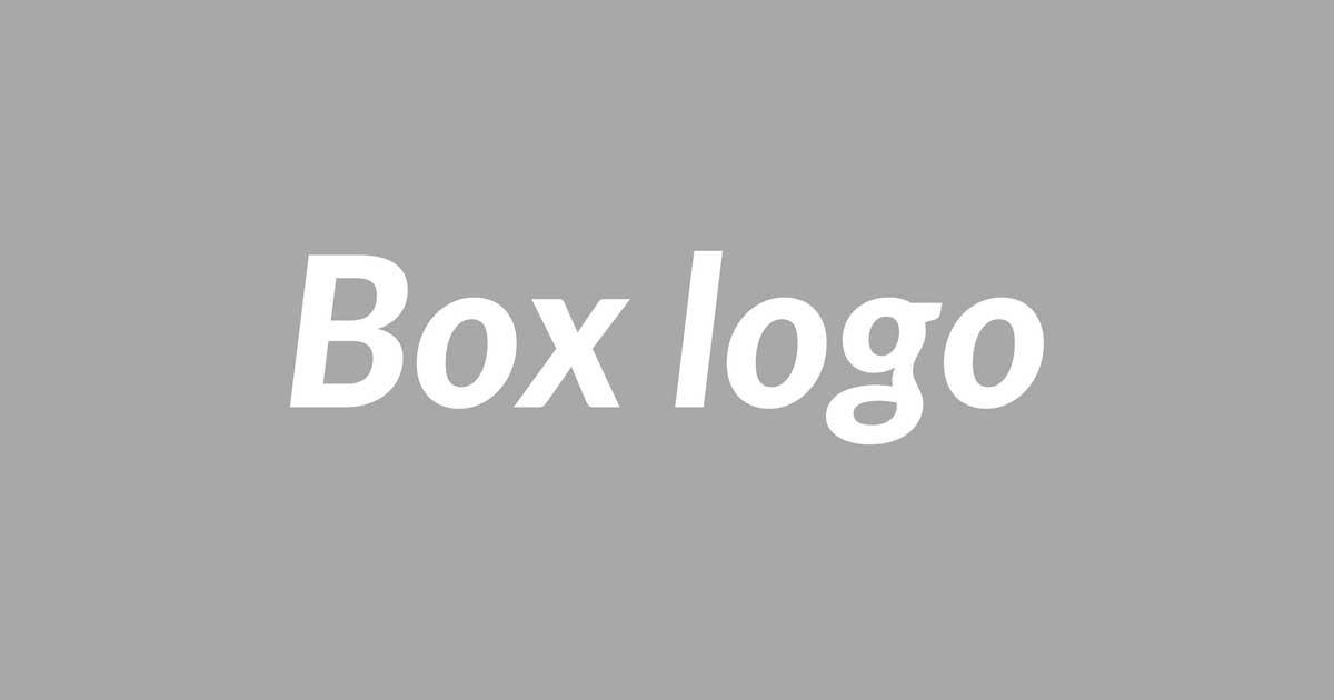 シュプリーム風ボックスロゴ スウェットがオリジナルで作れる!