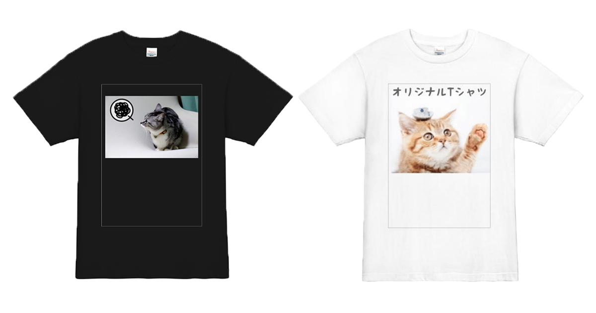 可愛い!愛犬・愛猫のオリジナル動物Tシャツの作り方