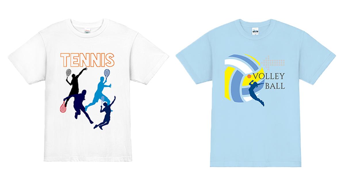 【デザインテンプレート有り】サークルや部活のチームウェアに最適!!オリジナルスポーツTシャツのデザイン例を紹介!!