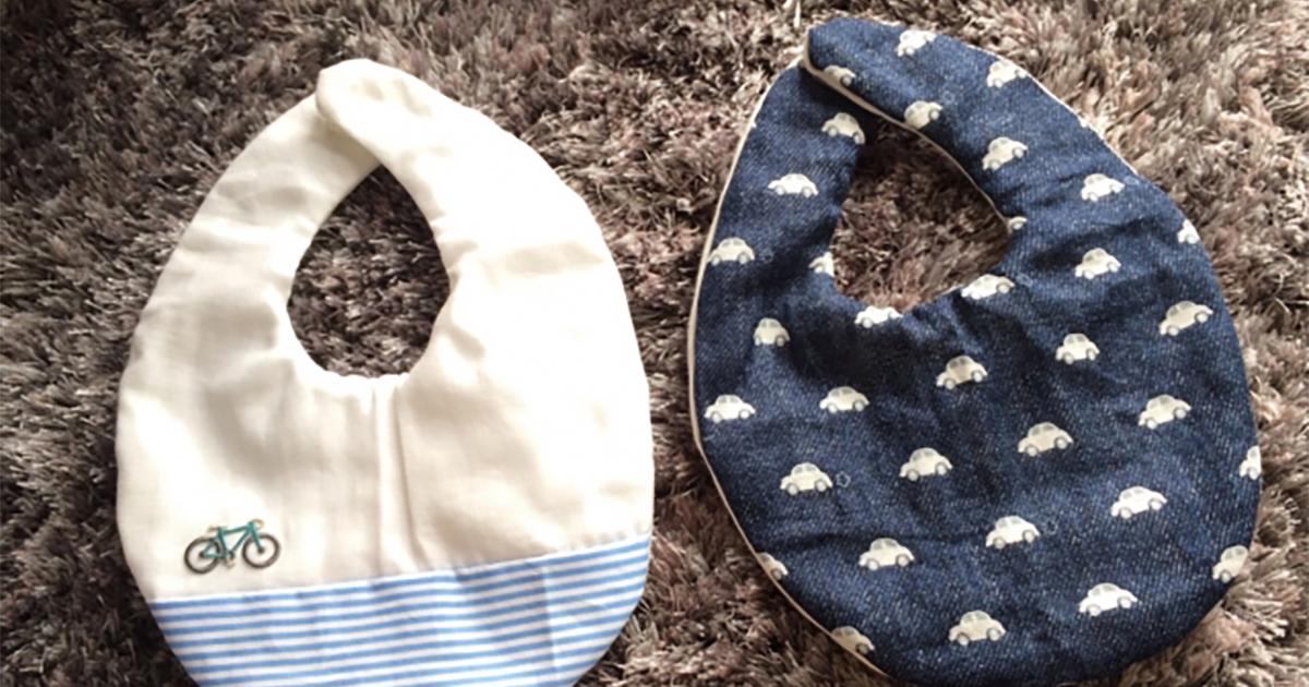 赤ちゃんによく似合うおしゃれなスタイを手作りしよう!タオルスタイの作り方を解説