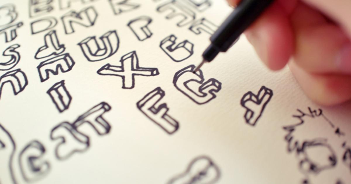 飾り文字を使っておしゃれに!デザイン方法から文字の装飾例まで紹介!