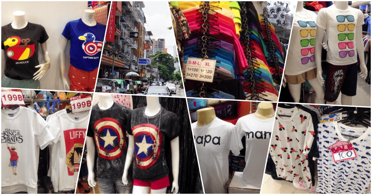 バンコク在中日本人がレポート!タイで人気のおもしろTシャツを紹介
