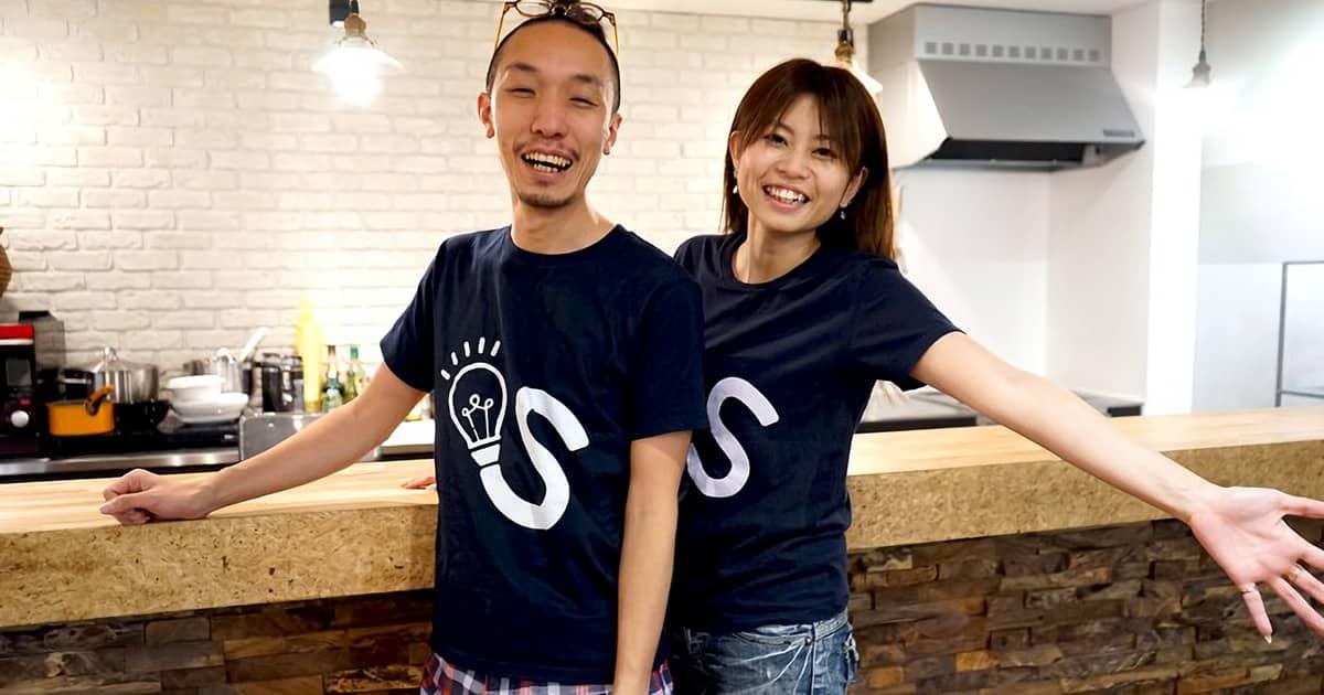 オリジナルTシャツが、社員一人ひとりの個性をひとつに!