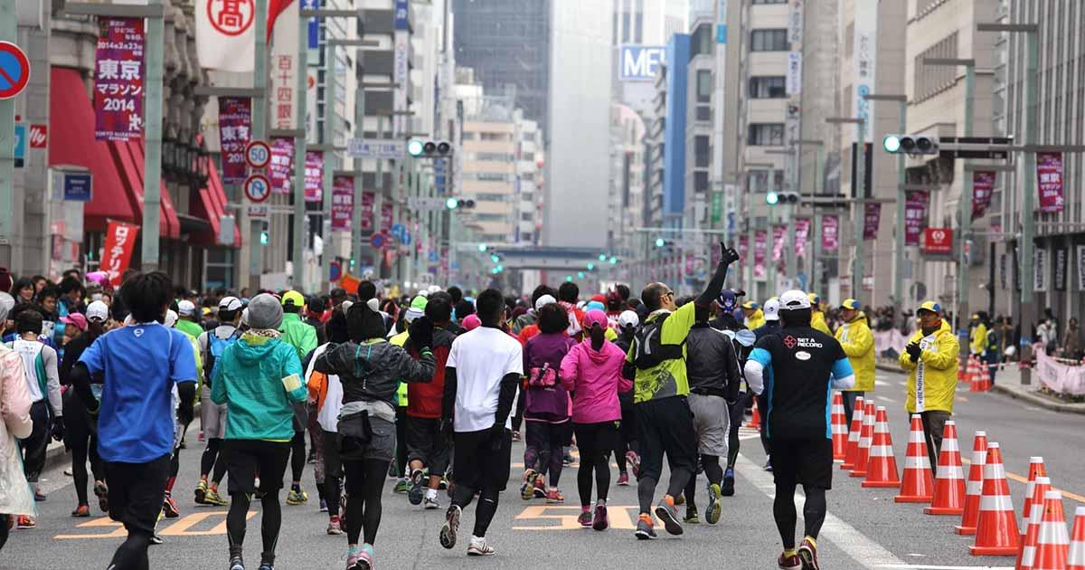 東京マラソン初心者のための東京マラソン攻略法!