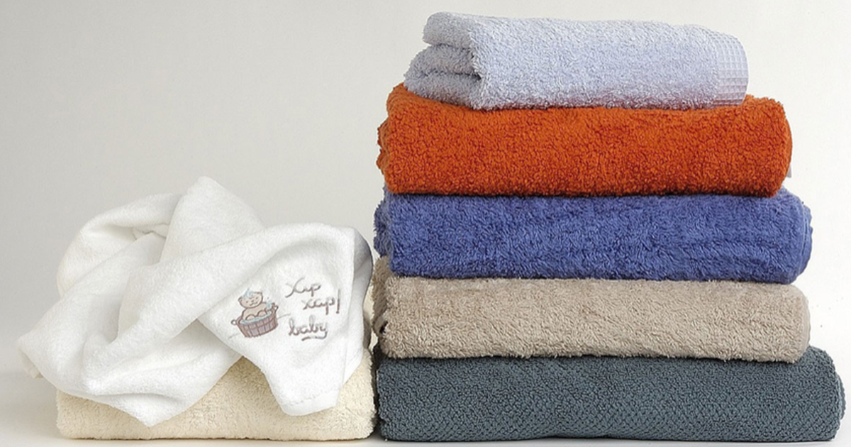 バスタオルをふわふわに洗濯するコツとは?干す前のほんの一手間で新品並みに!