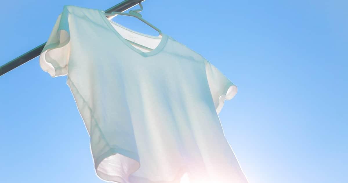 Tシャツの首まわりが「ダルダル」に伸びない、Tシャツの洗い方