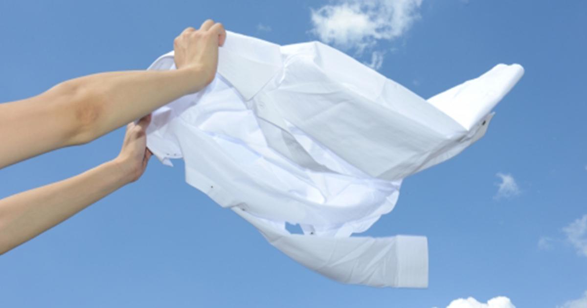 Tシャツの汗のしみ抜きに効果的な方法とは?