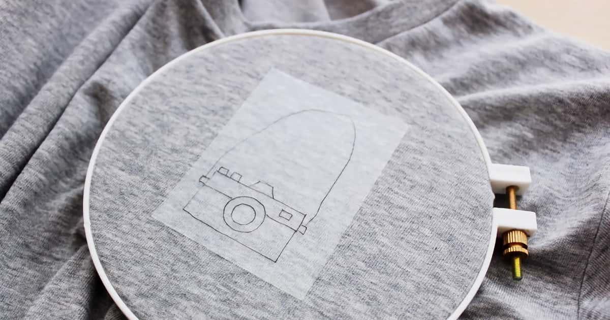 刺繍入りのTシャツを自作したい!初心者の私がTシャツに刺繍した際のやり方と注意点