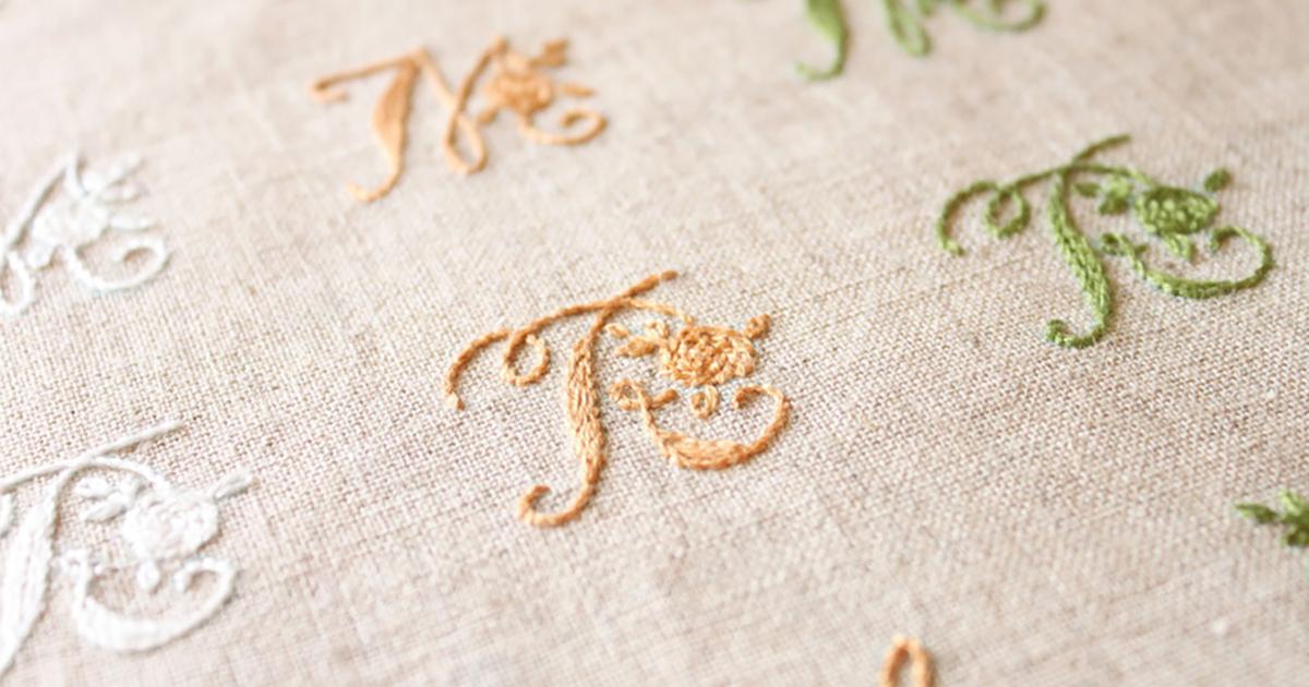 実は簡単!初心者でもできる刺繍のやり方を徹底解説!