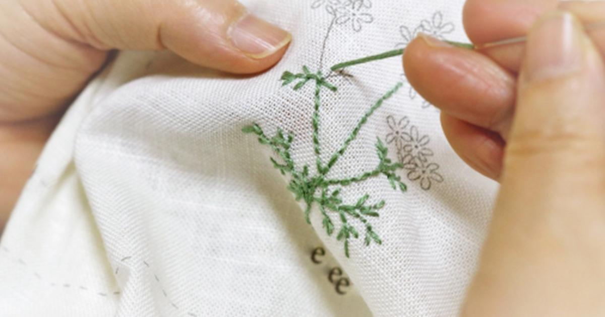 タオルに名前や模様などを刺繍したい!短時間で簡単にできる方法を紹介