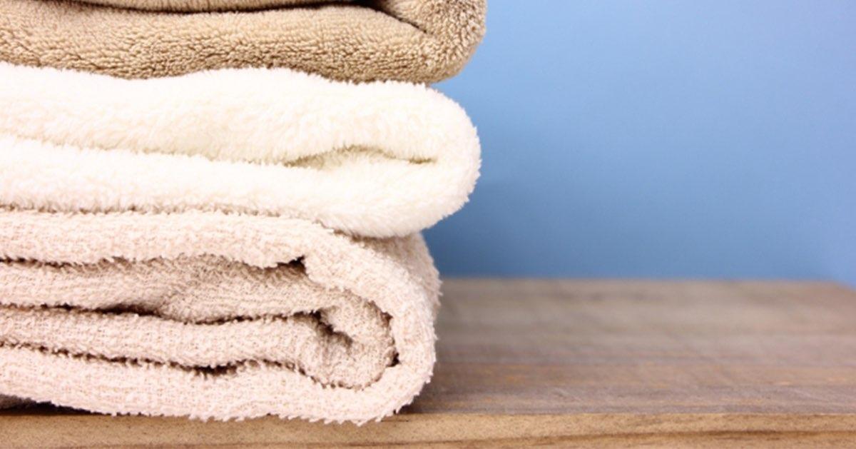 タオルのサイズを知ればシーンにピッタリの満足できるタオルが見つかる!