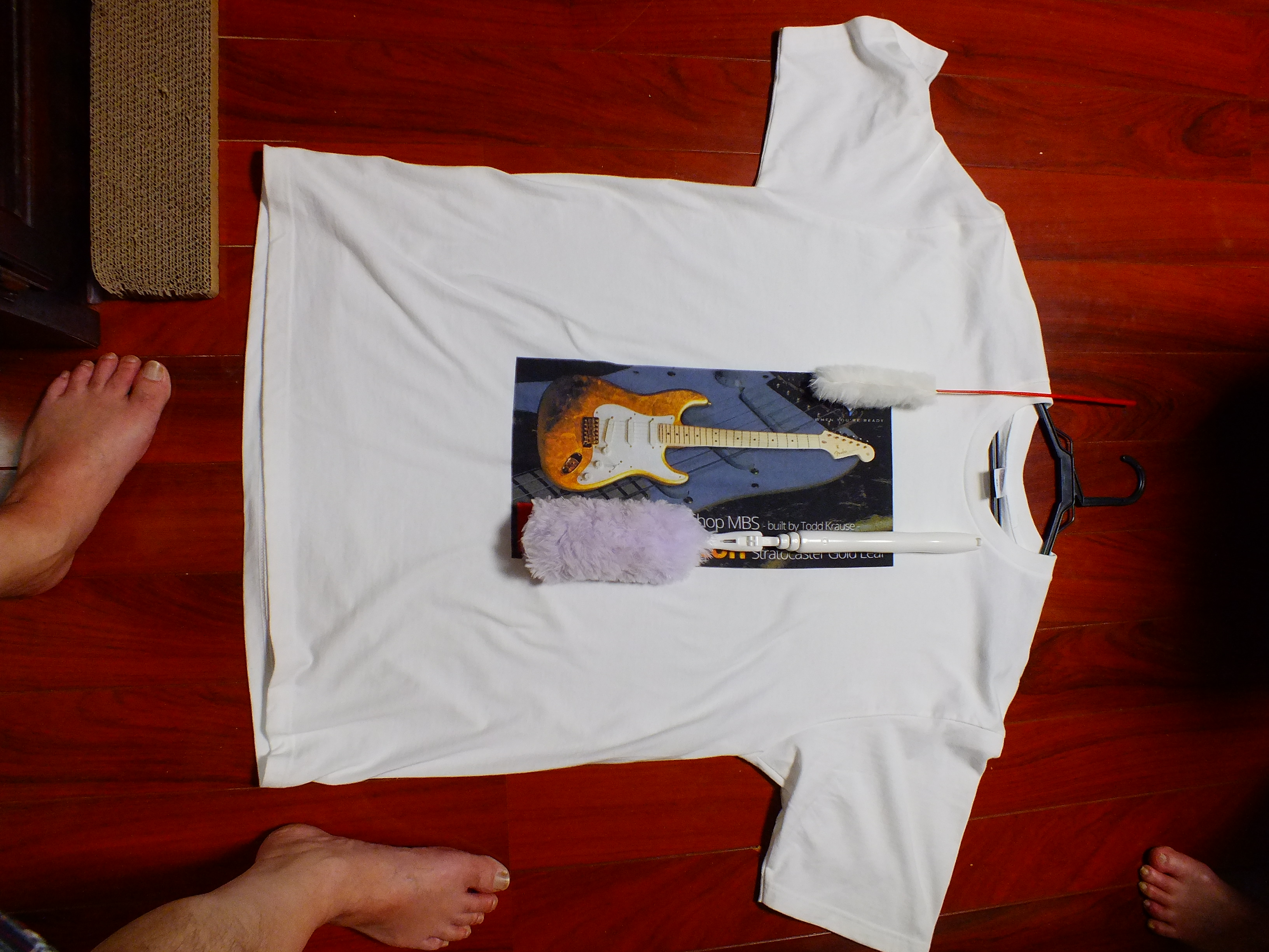 30代・男性・エレキじじいさんのオリジナルプリント作成事例丨オリジナルTシャツTMIX