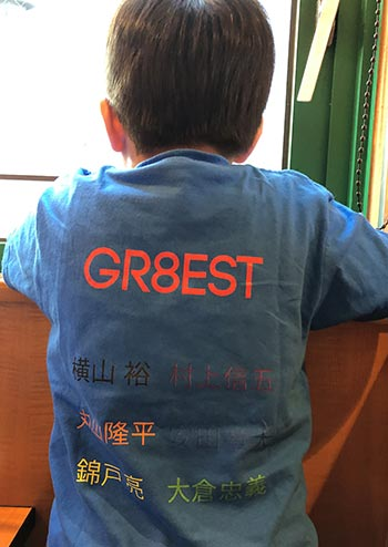 10代・女性・こめちゃんさんのオリジナルプリント作成事例丨オリジナルTシャツTMIX