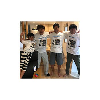 40代・男性・こういちさんのオリジナルプリント作成事例丨オリジナルTシャツTMIX