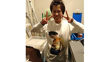 10代・女性・ロキさんのオリジナルプリント作成事例丨オリジナルTシャツTMIX