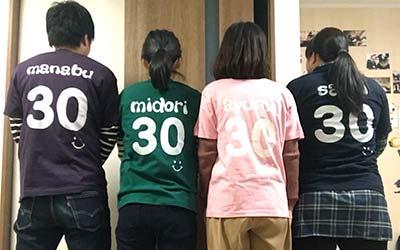 30代・女性・なりさんのオリジナルプリント作成事例丨オリジナルTシャツTMIX