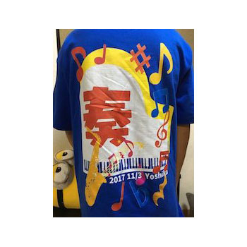 10代・女性・よしか-さんのオリジナルプリント作成事例丨オリジナルTシャツTMIX
