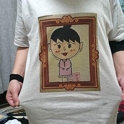 40代・女性・みーちゃんさんのオリジナルプリント作成事例丨オリジナルTシャツTMIX
