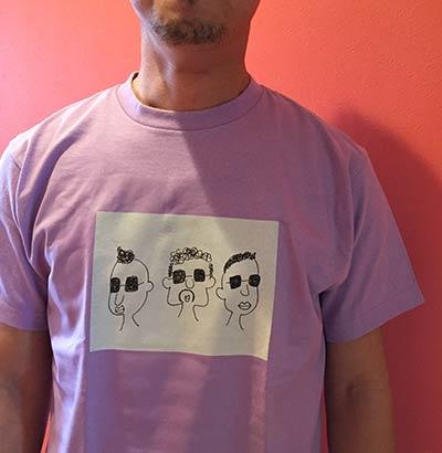 30代・女性・もーりーさんのオリジナルプリント作成事例丨オリジナルTシャツTMIX