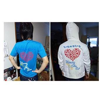 40代・女性・はにわさんのオリジナルプリント作成事例丨オリジナルTシャツTMIX