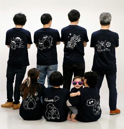 30代・女性・くろちゃさんのオリジナルプリント作成事例丨オリジナルTシャツTMIX