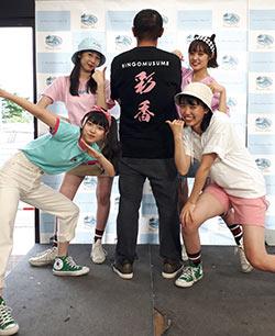 10代・女性・sirokarasuさんのオリジナルプリント作成事例丨オリジナルTシャツTMIX