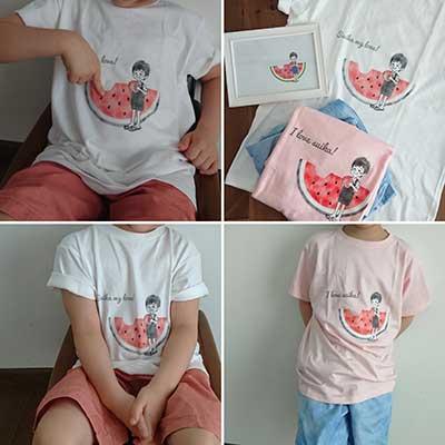 30代・女性・yukiさんのオリジナルプリント作成事例丨オリジナルTシャツTMIX