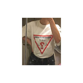 20代・女性・まいこはんさんのオリジナルプリント作成事例丨オリジナルTシャツTMIX