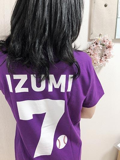 20代・女性・あにゃさんのオリジナルプリント作成事例丨オリジナルTシャツTMIX