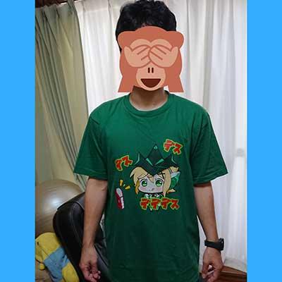 20代・男性・七海ルビーさんのオリジナルプリント作成事例丨オリジナルTシャツTMIX