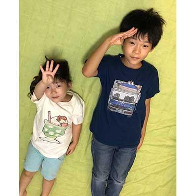 30代・女性・まきさんのオリジナルプリント作成事例丨オリジナルTシャツTMIX
