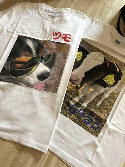 10代・女性・ぱむさんのオリジナルプリント作成事例丨オリジナルTシャツTMIX