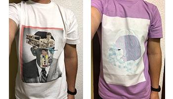 20代・男性・チャドさんのオリジナルプリント作成事例丨オリジナルTシャツTMIX