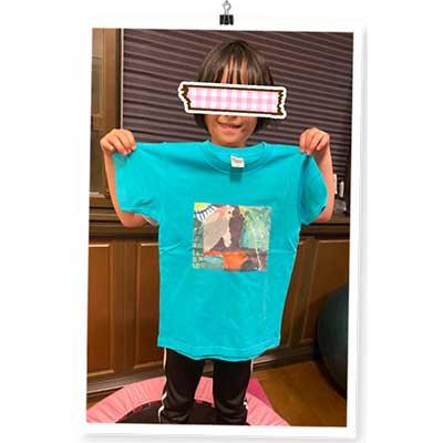 40代・女性・michyさんのオリジナルプリント作成事例丨オリジナルTシャツTMIX