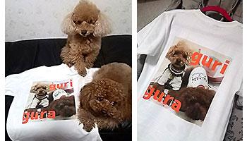 50代・女性・グリグラママさんのオリジナルプリント作成事例丨オリジナルTシャツTMIX