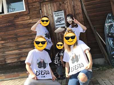 20代・女性・てぃんさんのオリジナルプリント作成事例丨オリジナルTシャツTMIX