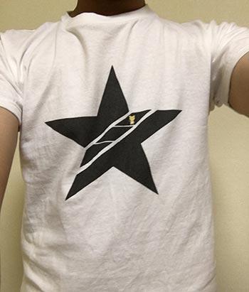 10代・女性・TONOSTARさんのオリジナルプリント作成事例丨オリジナルTシャツTMIX