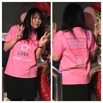 30代・女性・サチさんのオリジナルプリント作成事例丨オリジナルTシャツTMIX