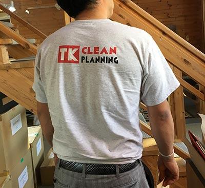30代・女性・TKさんのオリジナルプリント作成事例丨オリジナルTシャツTMIX