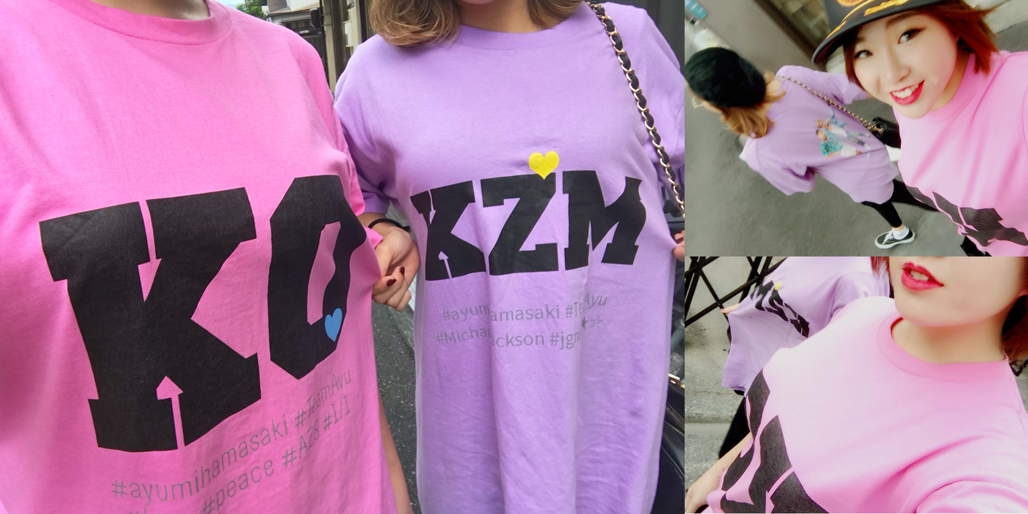 10代・女性・あやねさんのオリジナルプリント作成事例丨オリジナルTシャツTMIX