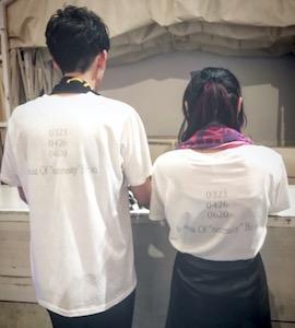 20代・女性・たおさんのオリジナルプリント作成事例丨オリジナルTシャツTMIX