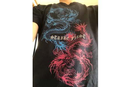 30代・男性・jingさんのオリジナルプリント作成事例丨オリジナルTシャツTMIX