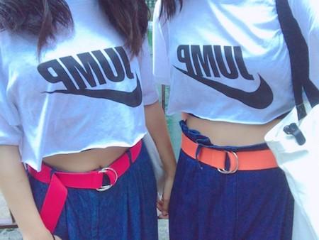 10代・女性・Mさんのオリジナルプリント作成事例丨オリジナルTシャツTMIX