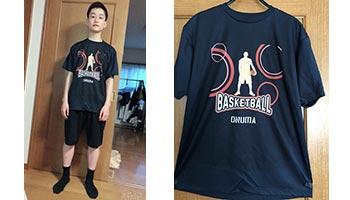 40代・女性・フジさんさんのオリジナルプリント作成事例丨オリジナルTシャツTMIX