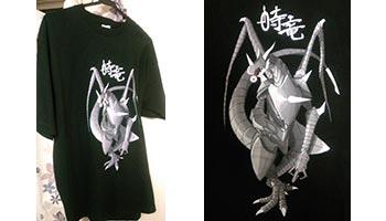 10代・男性・時竜さんのオリジナルプリント作成事例丨オリジナルTシャツTMIX