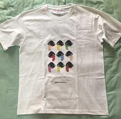 20代・男性・かげのひとさんのオリジナルプリント作成事例丨オリジナルTシャツTMIX