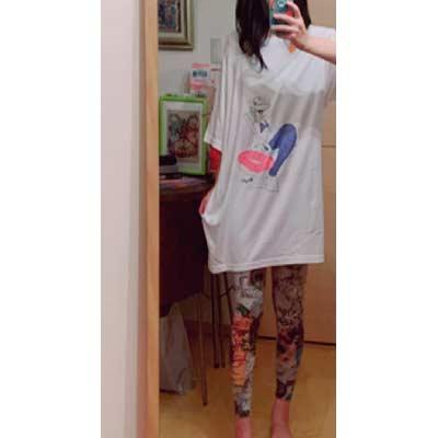 40代・女性・SYOさんのオリジナルプリント作成事例丨オリジナルTシャツTMIX